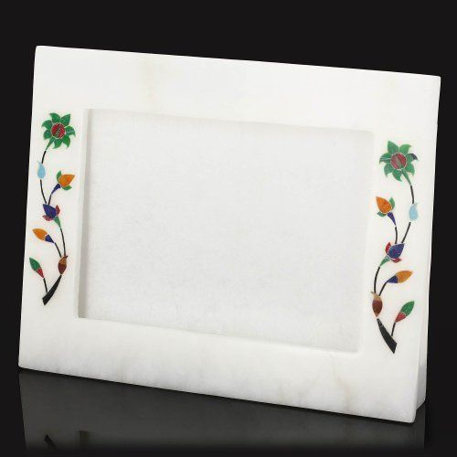 White Marble Ornament Novelty Photo Frame 12.7 X 17.8 With Stand by ShalinCraft, http://www.amazon.co.uk/dp/B00EXHSV02/ref=cm_sw_r_pi_dp_MWNktb0N1AGSB