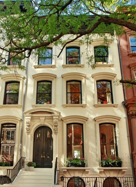 1000 images about row house style on pinterest for Townhomes for sale in nyc