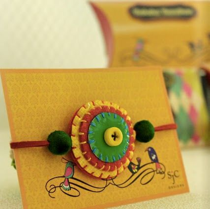 Beautiful Rakhi... SJC Designs: Rakhi Collection