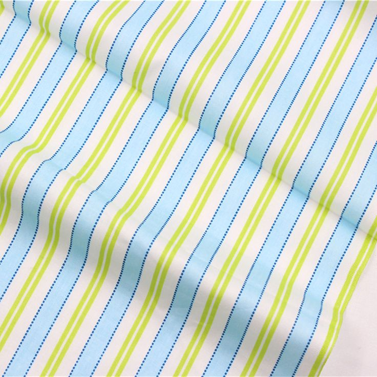 1616119 stripe Rayon cotton fabric, 50cm * 150cm diy handmade patchwork cotton home textile clothing accessories