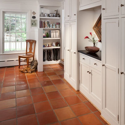 167 best images about kitchens terracotta floor tiles on for Terracotta kitchen ideas