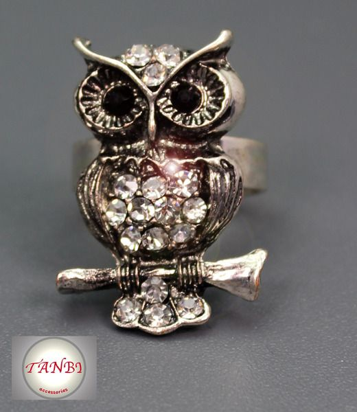 EULEN RING Nr. 1 von TANBI-accessories:  Schmuckstücke für Kids und Erwachsene auf DaWanda.com