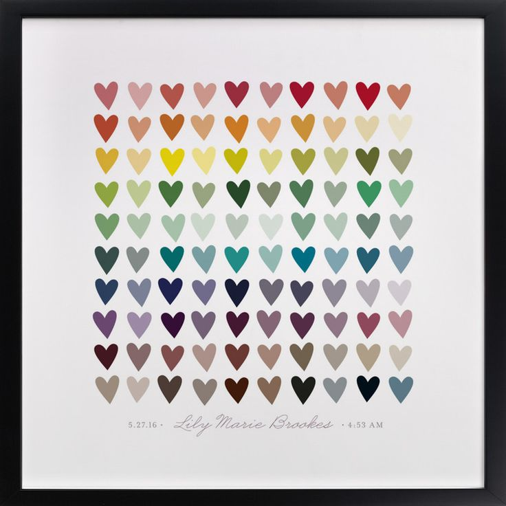 Click to see 'Paper Hearts' on Minted.com