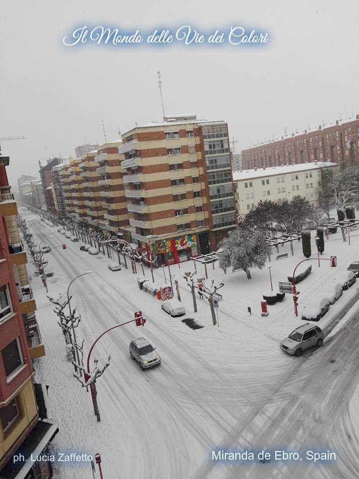 Calle Estación... Miranda de Ebro, Spain. ph. Lucia Zaffetto.