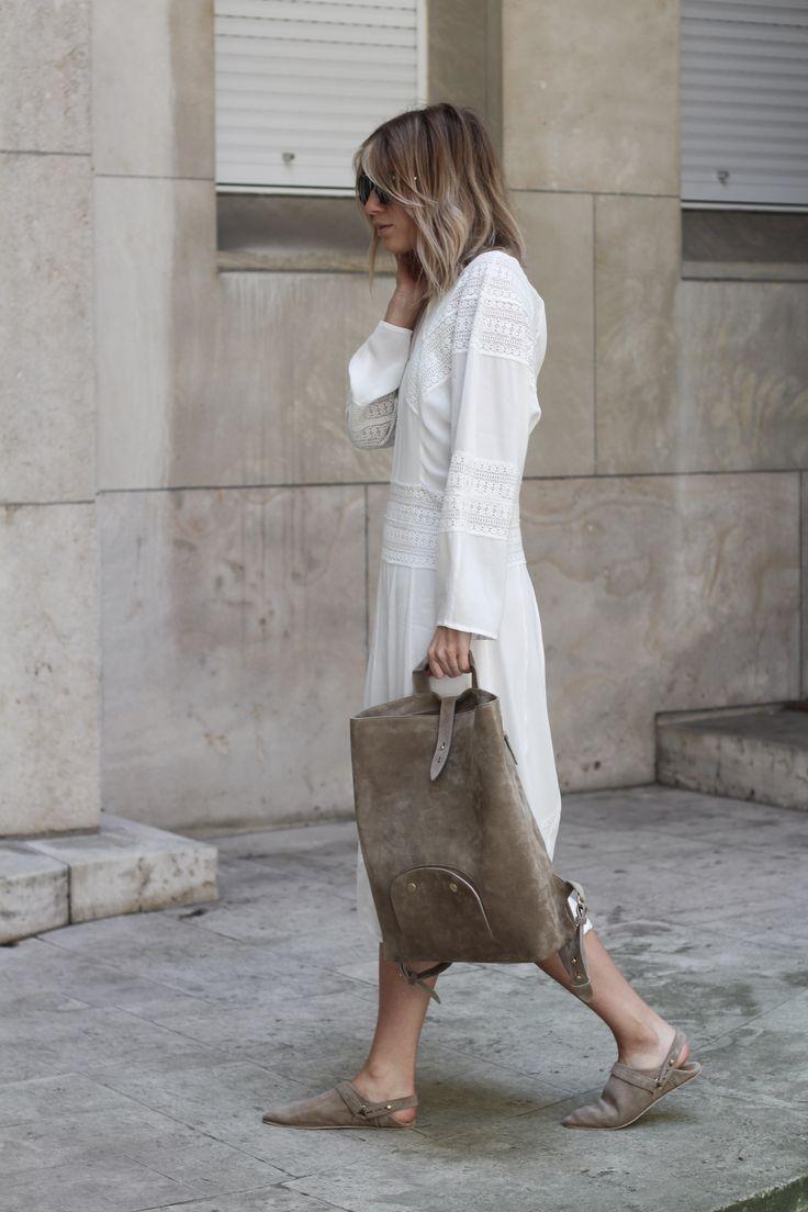 beautiful feminine white ethereal dress — curated by ajaedmond.com | capsule wardrobe | minimal chic | minimalist style | minimalist fashion | minimalist wardrobe | back to basics fashion