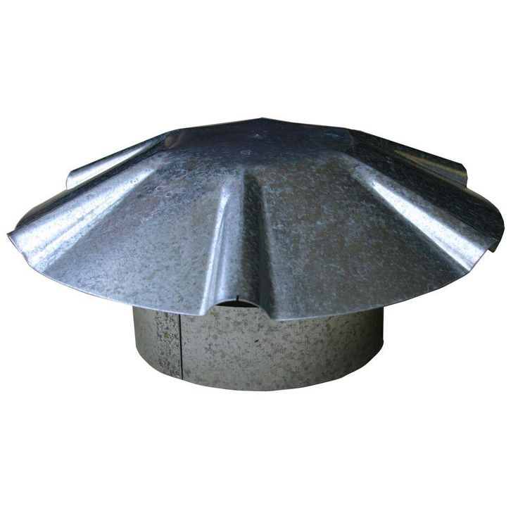 4 in. Galvanized Umbrella roof Vent Cap