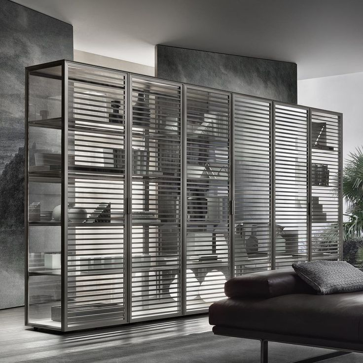 the alambra system of sideboards is by sleek horizontal crosspieces of high quality aluminium maximising the of clear glass and