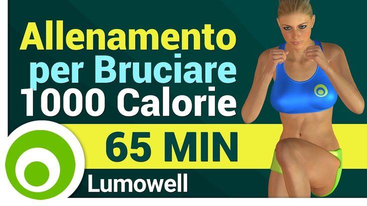 Allenamento Completo a Casa per Bruciare 1000 Calorie - Esercizi Cardio ...