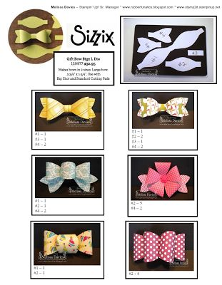 SO MANY WAYS to use the NEW Sizzix Gift Bow by Stampin up
