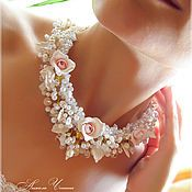 Магазин мастера Анжела Ченина: свадебные украшения, браслеты, диадемы, обручи, колье, бусы, серьги