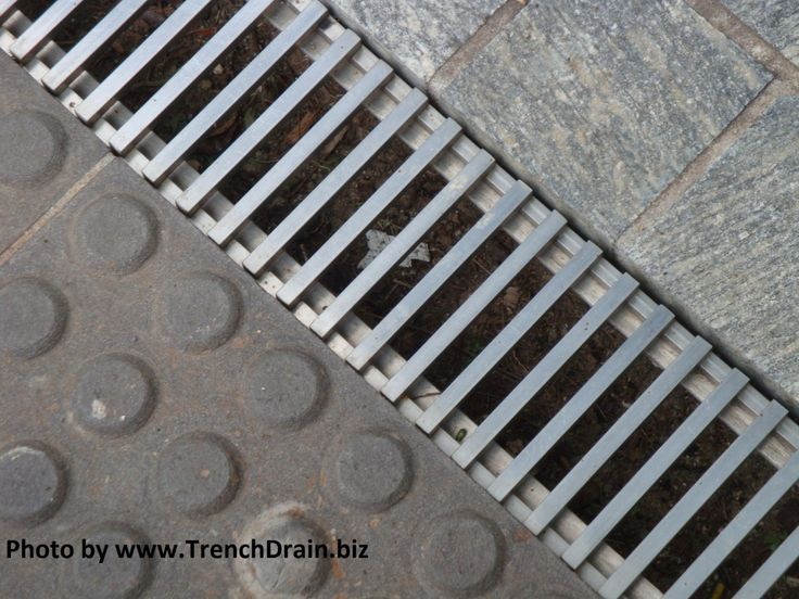 25 best ideas about trench drain on pinterest trench for Residential trench drain systems