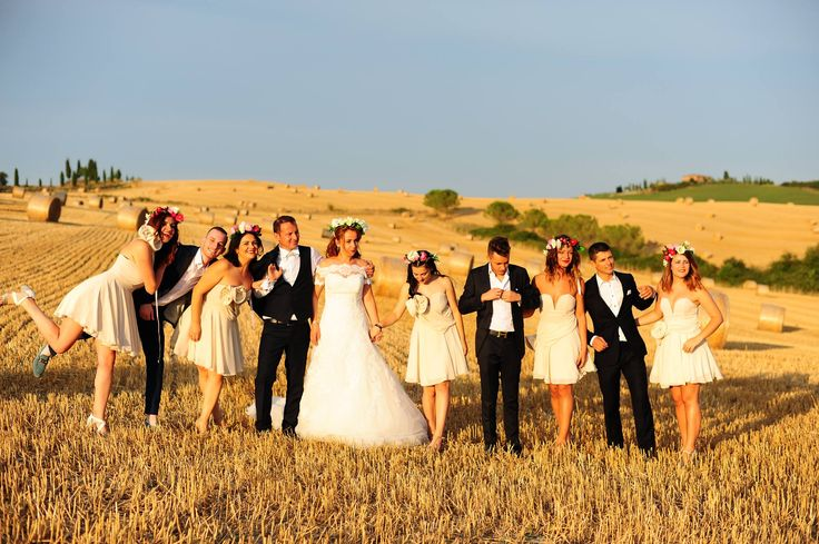 Tuscany hills wedding fotos