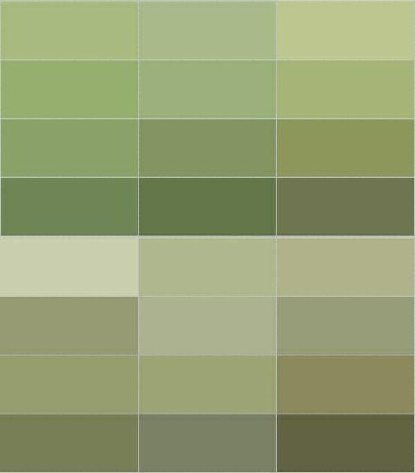Wandfarbe Olivgrün entspannt die Sinne und kämpft gegen Alltagsstress – #Allta…
