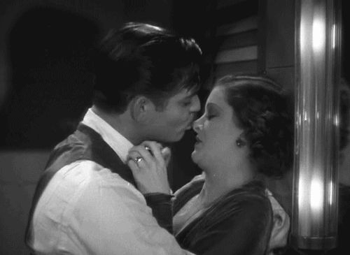 "jacquesdemys: "" Clark Gable and Myrna Loy in Wife vs. Secretary (1936) """