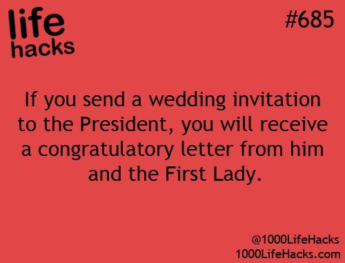#weddings #lifehack via 1000lifehacks.com