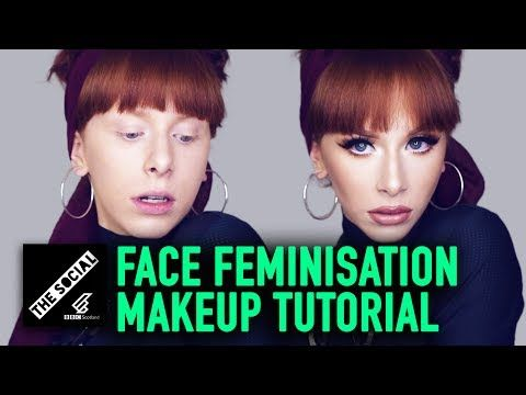 BOY TO GIRL MAKEUP SECRETS - MTF TRANSGENDER TUTORIAL + FFS - YouTube