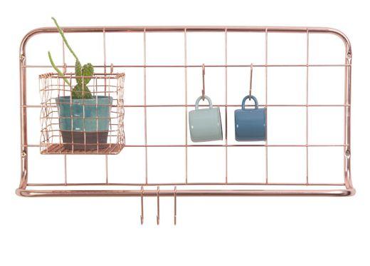 étagère cuivre - tube, tuyeau et comme déco murale - Le blog deco de MLC