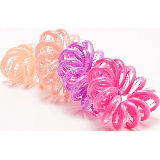 Sinsay - Duże gumki sprężynki - Wielobarwn rozowy Sinsay One Size