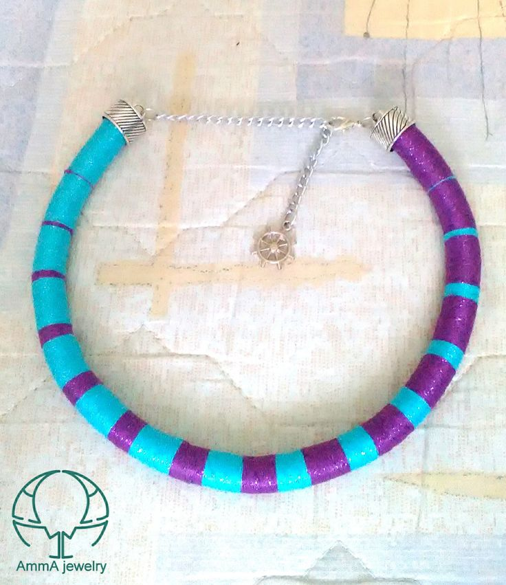 how to make rope necklace african