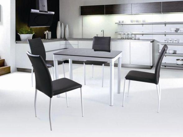 Stół Argus jest idealny do małej kuchni oraz salonu, występuje w kilku wersjach kolorystycznych.