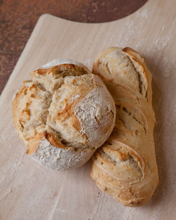 """Intersting blog reference the book entry referencing the book, Artisan Bread in """"Five Minutes a Day.  I have to try this now!  Thanks Shoot to Cook."""