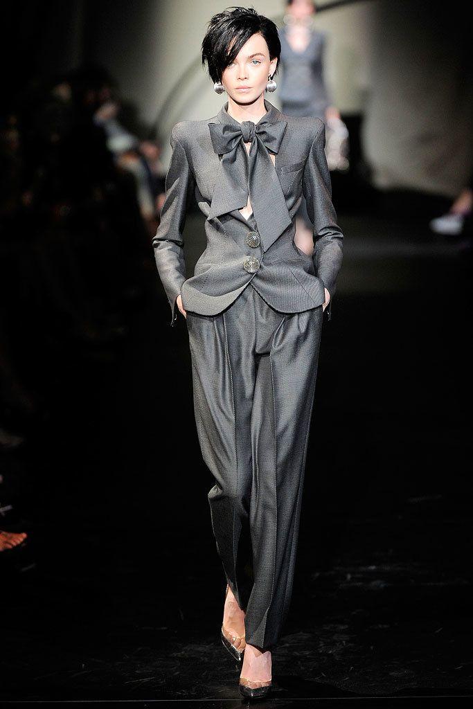 Armani Privé Fall 2009 Couture Fashion Show - Siri Tollerød