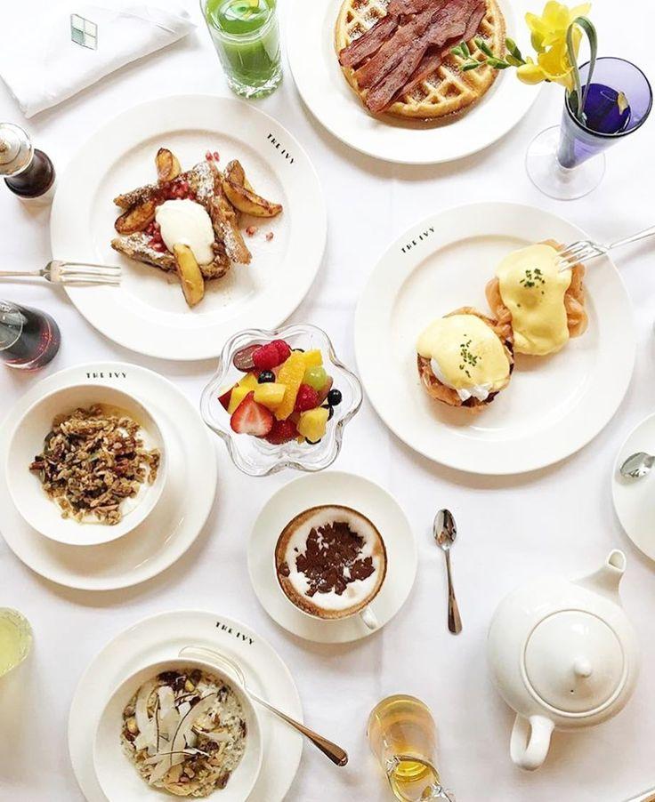 Via @clairemenary The Ivy Covent Garden WC2 #breakfast #london #breakfastlondon @theivywestst by breakfastlondon