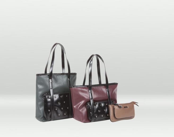 shopper e pochette, due borse in una :)