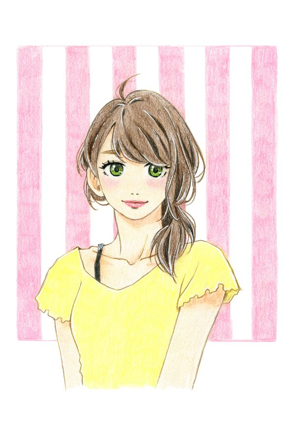 Fanart of Fumi Ohno from Tsubaki-chou Lonely Planet!