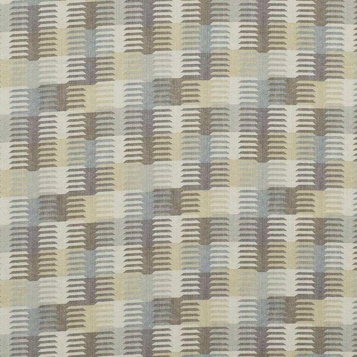 Warwick Fabrics : MEDINA, Colour STONE
