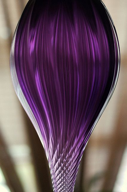 This shows you why purple was the color of royalty. It's spectacular!