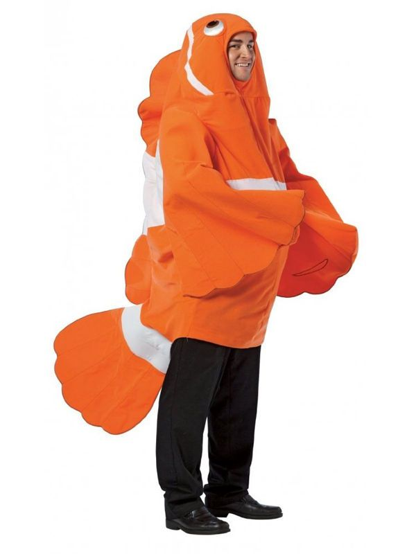 Adult Clown Fish Fancy Dress Costume Goldfish Mens Ladies Gents Womens Nemo BN in Clothes, Shoes & Accessories, Fancy Dress & Period Costume, Fancy Dress   eBay