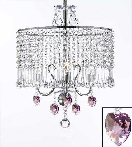 GO-G7-B21/1000/3 Contemporary 3-light Crystal Chandelier Chandeliers Lighting With Crystal Sha...