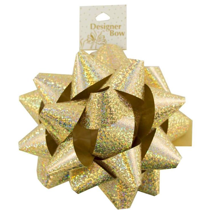 1931 best gift wrapping bows images on pinterest gift wrap bows jam paper large gift bows 7 inch speckled gold sold individually negle Images