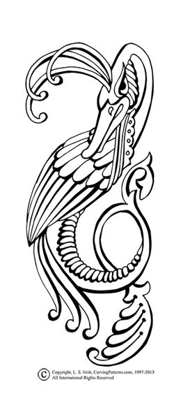 FREE PATTERN PACK Download - Viking Animals Celtic Accents