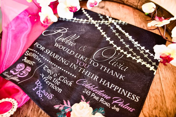Wedding Tail Napkin Inspiration United With Love