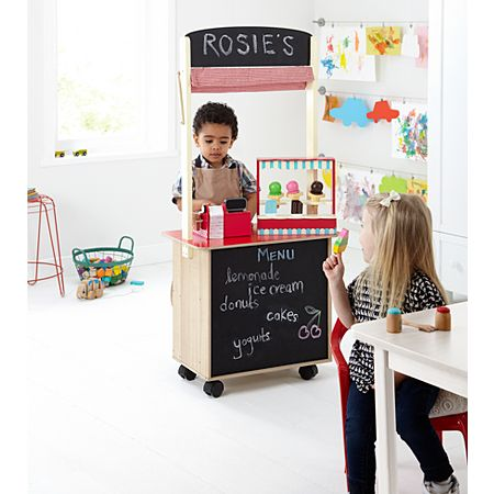 George Home 2 in 1 Wooden Play Shop & Cafe