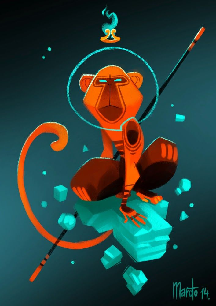 Space Wukong!