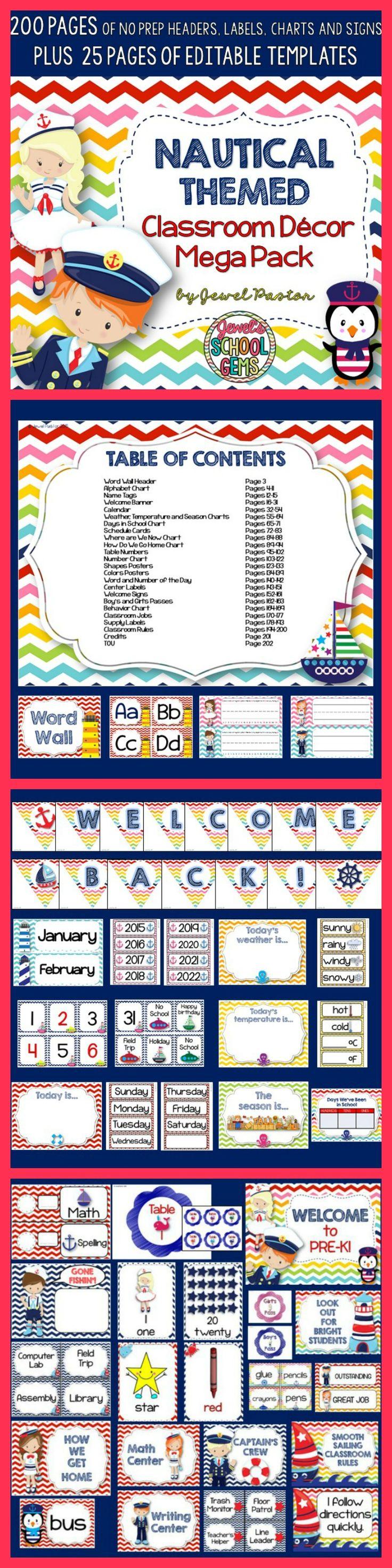 237 best nautical theme images on pinterest classroom decor
