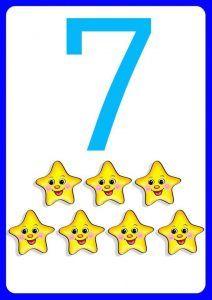 number-sevenflashcards-for-kids