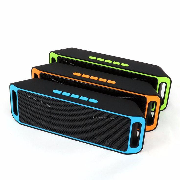Avanshare Portable Bluetooth Speaker Wireless enceinte BT4.0 Caixa De Som Stereo Subwoofer Speakers TF USB FM Radio Built-in Mic