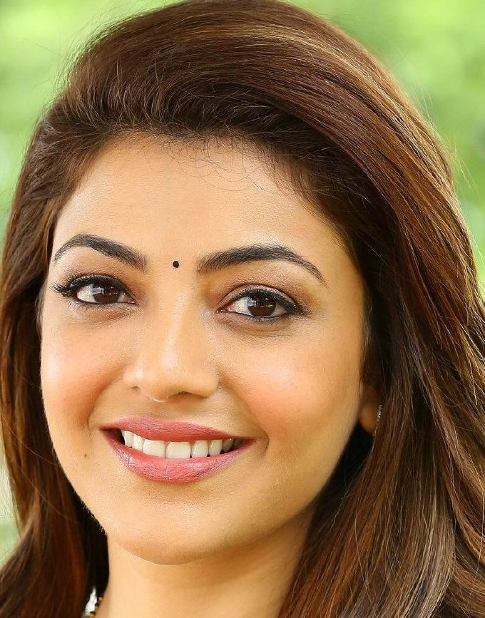Gorgeous Indian Girl Kajal Aggarwal Smiling Face Closeup Gallery Smile Face Beautiful Girl Face Beautiful Eyes
