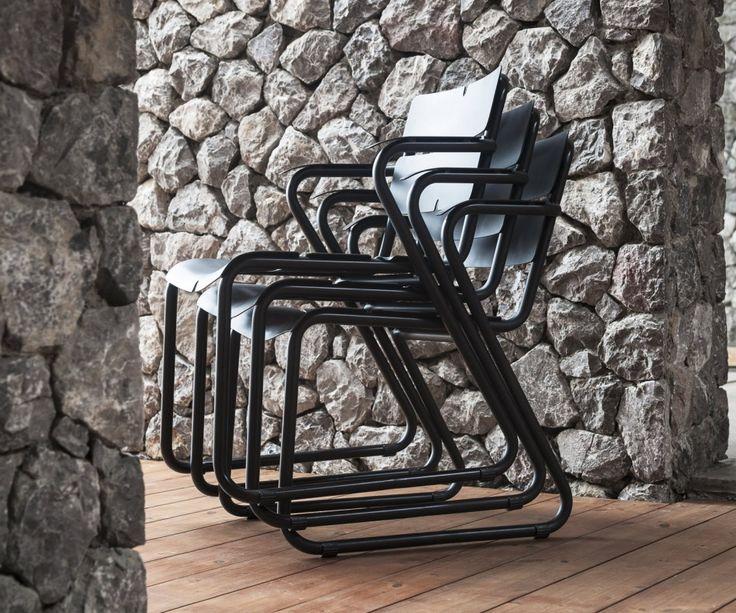 Oasiq Corail Aluminium Stuhl Mit Armlehnen