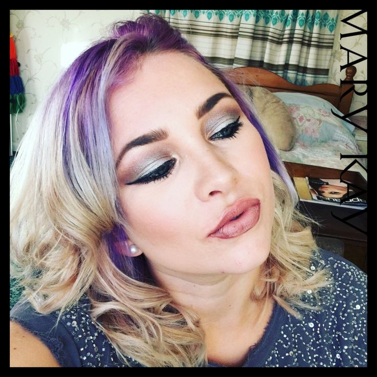 Make up look created by me. Show casing a purple smoke #MaryKay #MyMKLife #Makeup #Beauty #Pamper #fashion #hair
