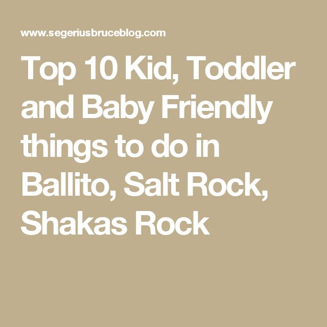 Top 10 Kid, Toddler and Baby Friendly things to do in Ballito, Salt Rock, Shakas Rock