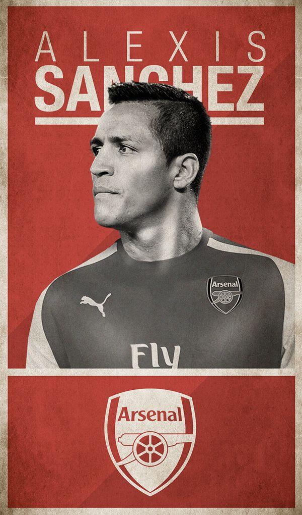 #Alexis #Sanchez #poster #Arsenal #football