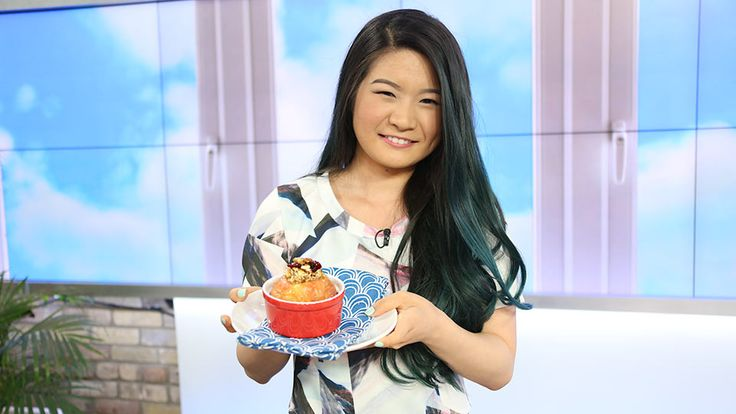 The rising YouTube-r discusses her channel's focus and shares a healthy baked apple dessert recipe