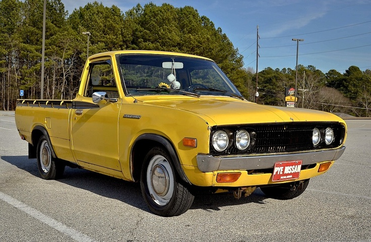 Datsun 620 | bus van minibus pick up trucks | Pinterest