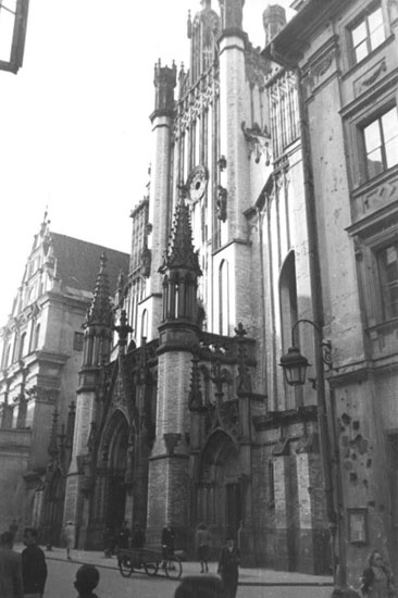 St John Cathedral, Warsaw 1940-44