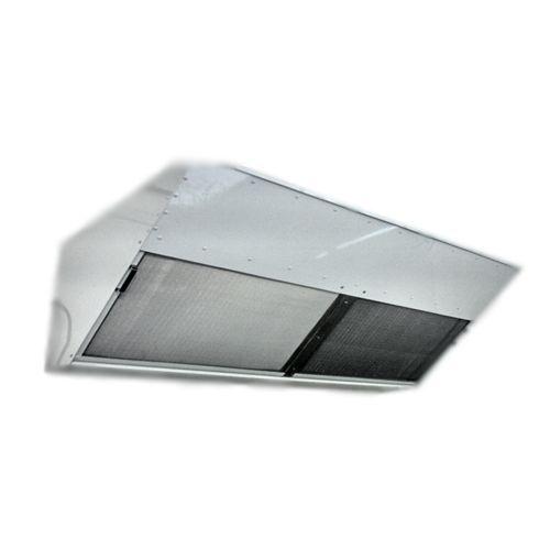 Coifa Exaustora com filtragem de carvão ativado.